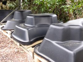 Plastic Preformed Ponds
